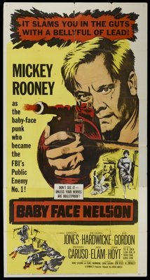 Baby Face Nelson movie poster (1957) poster MOV_38ffec0b