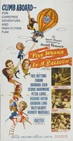 Five Weeks in a Balloon movie poster (1962) picture MOV_391b65c1
