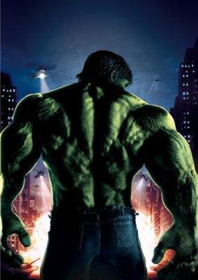 The Incredible Hulk movie poster (2008) poster MOV_391e4ede