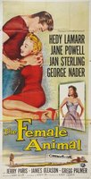 The Female Animal movie poster (1958) picture MOV_393001d7