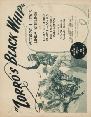 Zorro's Black Whip movie poster (1944) poster MOV_3936aee4