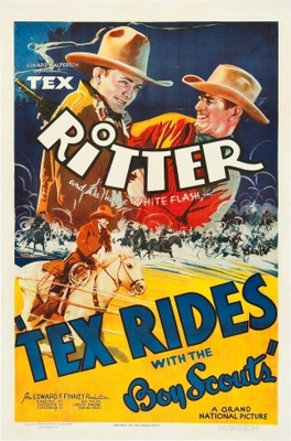 Tex Rides with the Boy Scouts movie poster (1937) poster MOV_39396224