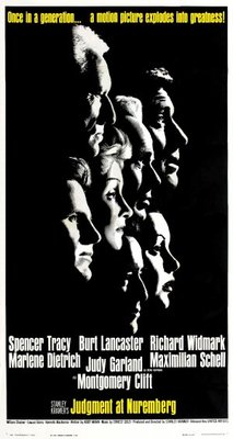 Judgment at Nuremberg movie poster (1961) poster MOV_393f6307