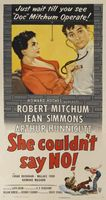 She Couldn't Say No movie poster (1954) picture MOV_395e0b0f