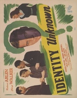 Identity Unknown movie poster (1945) picture MOV_397581c2
