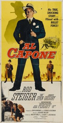 Al Capone movie poster (1959) poster MOV_398f87cb