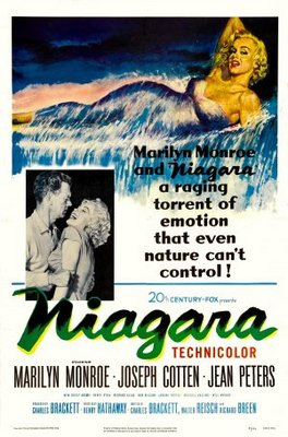 Niagara movie poster (1953) poster MOV_39a0da69