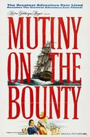Mutiny on the Bounty movie poster (1962) picture MOV_86a1cb7f