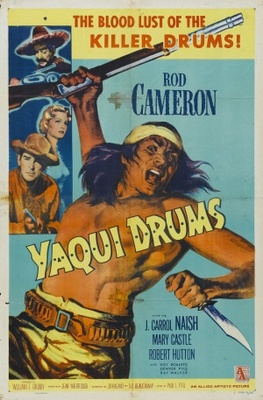 Yaqui Drums movie poster (1956) poster MOV_39a57bca