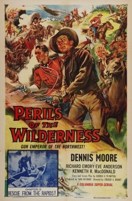 Perils of the Wilderness movie poster (1956) poster MOV_39bf30c5