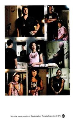Grey's Anatomy movie poster (2005) poster MOV_39c189a4