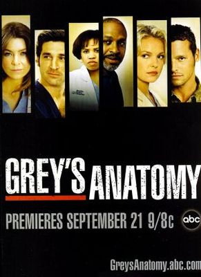 Grey's Anatomy movie poster (2005) poster MOV_39c98749