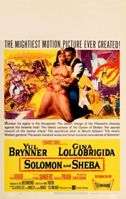 Solomon and Sheba movie poster (1959) poster MOV_39ce0b76