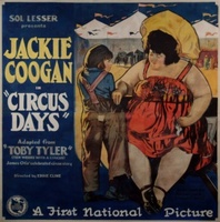 Circus Days movie poster (1923) picture MOV_39e1d028