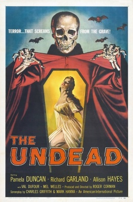 The Undead movie poster (1957) poster MOV_39e74a52