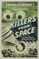 Killers from Space movie poster (1954) picture MOV_39ecf069