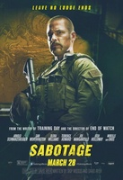 Sabotage movie poster (2014) picture MOV_3a3794fa