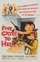 Five Gates to Hell movie poster (1959) picture MOV_0427a948