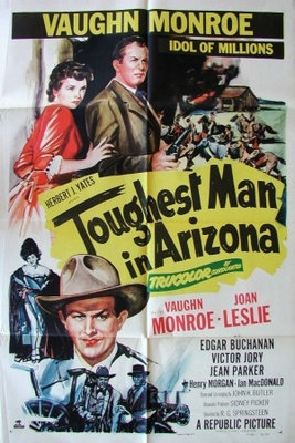 Toughest Man in Arizona movie poster (1952) poster MOV_3a55d06e