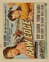 Raw Edge movie poster (1956) picture MOV_3a5cdba2