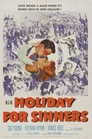 Holiday for Sinners movie poster (1952) picture MOV_3a64f2cb