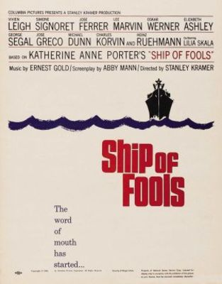 Ship of Fools movie poster (1965) poster MOV_3a745a78