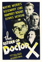 The Return of Doctor X movie poster (1939) picture MOV_3a7c5556