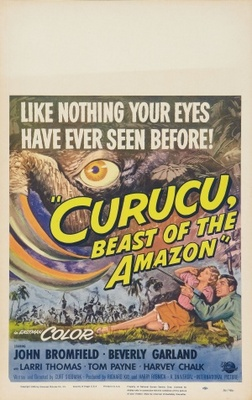 Curucu, Beast of the Amazon movie poster (1956) poster MOV_3a857153