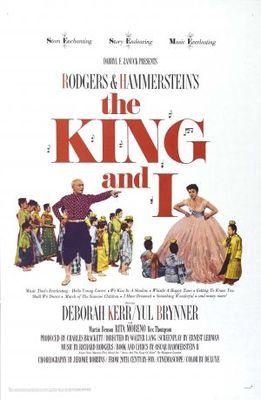 The King and I movie poster (1956) poster MOV_3a918006