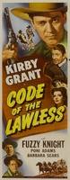 Code of the Lawless movie poster (1945) picture MOV_3aa320ab