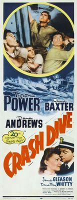 Crash Dive movie poster (1943) poster MOV_3ab0dad5