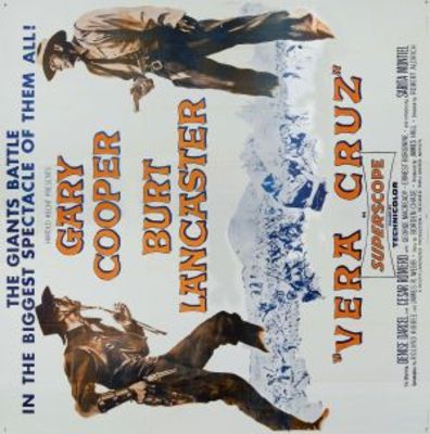 Vera Cruz movie poster (1954) poster MOV_3abb8ac4