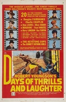Days of Thrills and Laughter movie poster (1961) picture MOV_3abcae4e