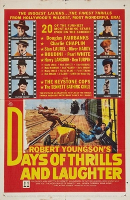 Days of Thrills and Laughter movie poster (1961) poster MOV_3abcae4e