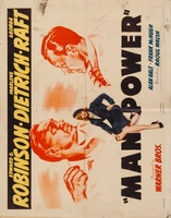 Manpower movie poster (1941) picture MOV_3ad2759d