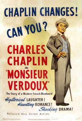 Monsieur Verdoux movie poster (1947) poster MOV_3ade1b4a