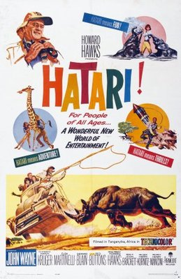 Hatari! movie poster (1962) poster MOV_3b0e798f