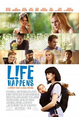 L!fe Happens movie poster (2011) poster MOV_3b308b7d