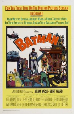 Batman movie poster (1966) poster MOV_3b40ba7b