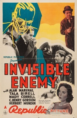 Invisible Enemy movie poster (1938) poster MOV_3b43c8fd