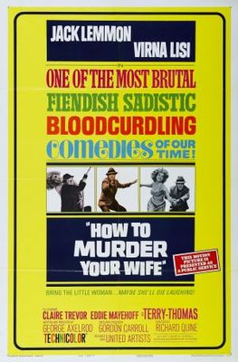 How to Murder Your Wife movie poster (1965) poster MOV_3b7dedd6