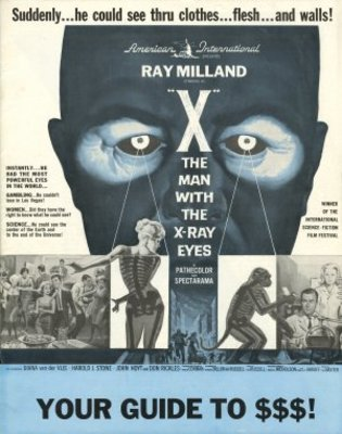 X movie poster (1963) poster MOV_3b8b29de