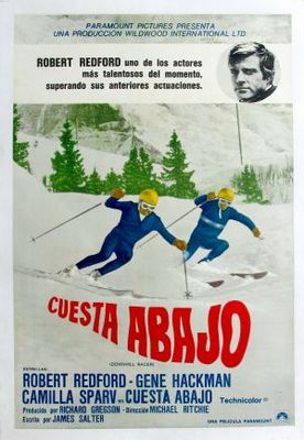 Downhill Racer movie poster (1969) poster MOV_3b9fd155