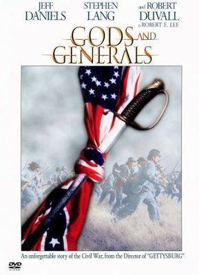 Gods and Generals movie poster (2003) poster MOV_3bac4bca