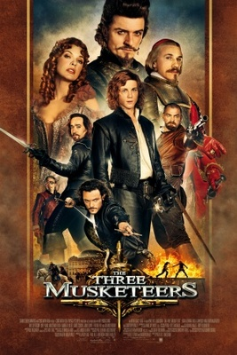 The Three Musketeers movie poster (2011) poster MOV_3bbaa3cc