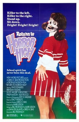 Return to Horror High movie poster (1987) poster MOV_3bbe4f99