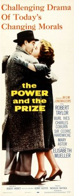 The Power and the Prize movie poster (1956) poster MOV_3bc50159