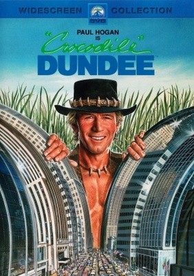 Crocodile Dundee movie poster (1986) poster MOV_3bdd8238