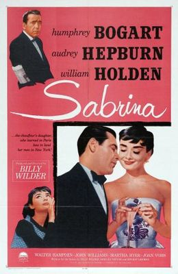 Sabrina movie poster (1954) poster MOV_3be6d043