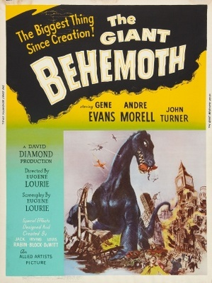 Behemoth, the Sea Monster movie poster (1959) poster MOV_3bf84c74